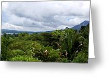 Arenal Lake And Volcano Greeting Card