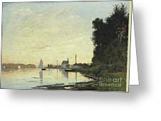 Argenteuil In Late Afternoon Greeting Card