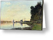 Argenteuil, Late Afternoon Greeting Card