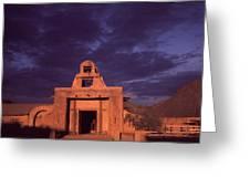 Arizona Adobe Mission Church 1939-2016 Greeting Card