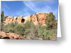 Arizona Canyon Two Greeting Card