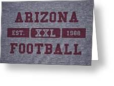 Arizona Cardinals Retro Shirt Greeting Card