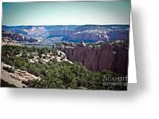 Arizona Desert Landscape Greeting Card by Ryan Kelly