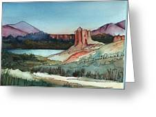 Arizona Hills Greeting Card