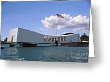 Arizona Memorial Greeting Card