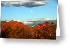 Arizona Moon Greeting Card