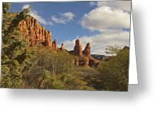 Arizona Outback 2 Greeting Card by Mike McGlothlen