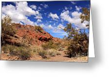 Arizona Red Rock Greeting Card