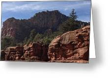 Arizona Red Rocks Greeting Card
