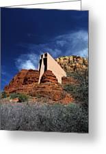 Arizona, Sedona  Chapel Of The Holy Cross Greeting Card