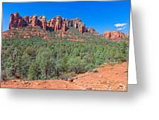 Arizona-sedona-soldier's Pass Trail Greeting Card