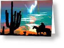 Arizona Skies Greeting Card