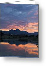 Arizona Sunset 2 Greeting Card