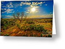 Arizona Sunset 28 Greeting Card