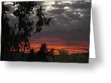 Arizona Sunset II Greeting Card