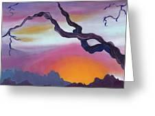 Arizona Sunset Greeting Card