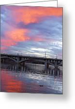 Arizona Tempe Town Lake Greeting Card