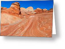 Arizona-utah- North Coyote Buttesthe Wave Greeting Card