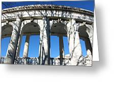 Arlington Amphitheater From The Outside Greeting Card