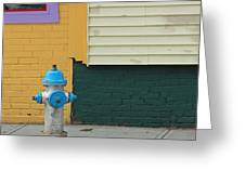 Arlington Hydrant Greeting Card