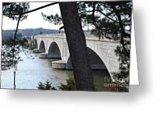 Arlington Memorial Bridge Greeting Card