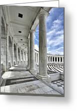 Arlington National Cemetery - Memorial Amphitheater Greeting Card
