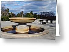 Arlington National Cemetery Memorial Fountain Greeting Card