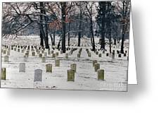Arlington Winter Snow Greeting Card