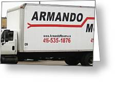 Armando Movers Greeting Card