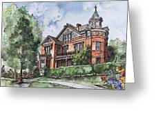 Armstrong Mansion Greeting Card