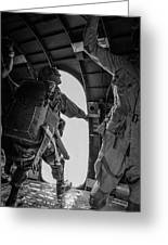 Army Airborne Series 3 Greeting Card