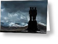 Army Commando Memorial  Greeting Card