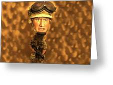 Army Guy Greeting Card