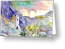Arnedillo In La Rioja Spain 03 Greeting Card