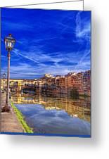Arno River Florence Greeting Card