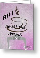 Aroma 2 Greeting Card