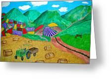 Aromatic Harvest Greeting Card