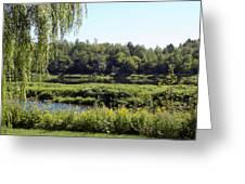 Aroostook River Landscape Greeting Card