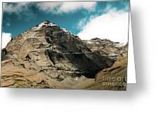 Around Holy Kailas Himalayas Tibet Yantra.lv Greeting Card