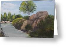 Around The Bend Greeting Card