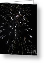 Around The Fourth Fireworks Iv Greeting Card