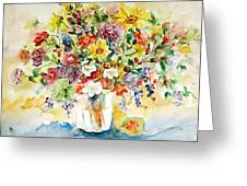 Arrangement IIi Greeting Card