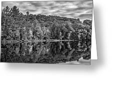 Arrowhead Provincial Park Bw Greeting Card
