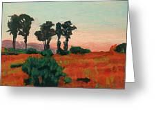 Arroyo Grande Vista Greeting Card