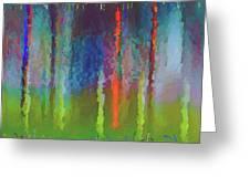 Art Abstract Greeting Card
