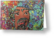 Art Afro Greeting Card
