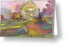 Art Barn, Port Clyde Greeting Card