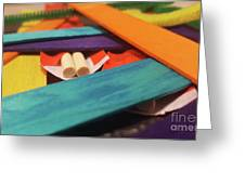 Art Class Greeting Card