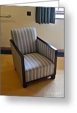 Art Deco Chair Greeting Card