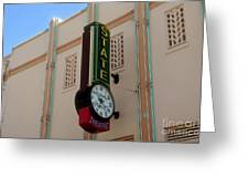 Art Deco Theatre Greeting Card